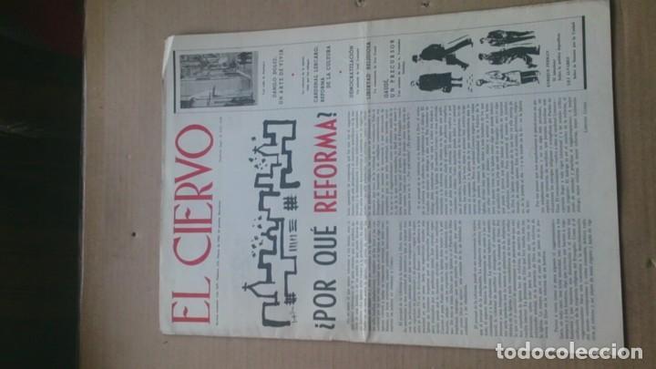REVISTA EL CIERVO N 133 MARZO 1965 (Coleccionismo - Revistas y Periódicos Modernos (a partir de 1.940) - Otros)