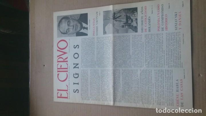 REVISTA EL CIERVO N 145 MARZO 1966 (Coleccionismo - Revistas y Periódicos Modernos (a partir de 1.940) - Otros)