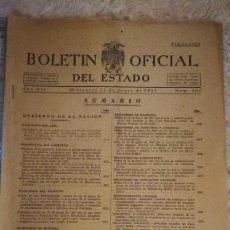 Coleccionismo de Revistas y Periódicos: BOLETIN OFICIAL DEL ESTADO - Nº 162 - 11 DE JUNIO 1947. Lote 116237499