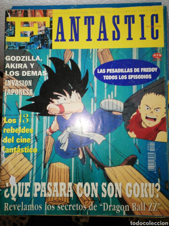 FANTASTIC MAGAZINE NÚMERO 4 MAYO 1992 (Coleccionismo - Revistas y Periódicos Modernos (a partir de 1.940) - Otros)