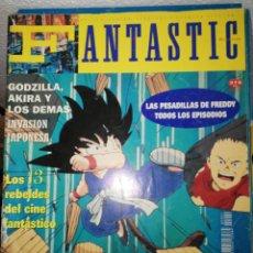 Coleccionismo de Revistas y Periódicos: FANTASTIC MAGAZINE NÚMERO 4 MAYO 1992. Lote 116241555