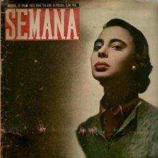 Coleccionismo de Revistas y Periódicos: SEMANA. Nº 519. 31 ENERO 1950. (ST/REV.). Lote 116245271