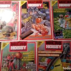 Coleccionismo de Revistas y Periódicos: REVISTAS MICROHOBBY Nº 106, 108, 109, 110 Y 111. (REVISTA SPECTRUM MICRO HOBBY). Lote 116254767