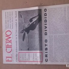 Coleccionismo de Revistas y Periódicos: REVISTA EL CIERVO N. 169 MARZO 1968. Lote 116308875