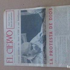 Coleccionismo de Revistas y Periódicos: REVISTA EL CIERVO N. 181 MARZO 1969. Lote 116340375
