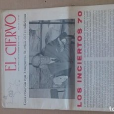 Coleccionismo de Revistas y Periódicos: REVISTA EL CIERVO N. 190 DICIEMBRE 1969. Lote 116340955