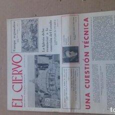 Coleccionismo de Revistas y Periódicos: REVISTA EL CIERVO N. 193 MARZO 1970. Lote 116341811