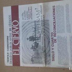 Coleccionismo de Revistas y Periódicos: REVISTA EL CIERVO N.237 NOVIEMBRE 1973. Lote 116351119