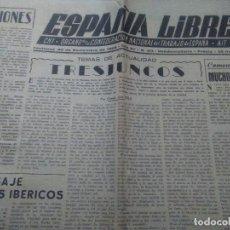 Coleccionismo de Revistas y Periódicos: ESPAÑA LIBRE CNT ORGANO DE LA CONFEDERACION NACIONAL DE TRABAJO DE ESPAÑA TOULOUSE 1959. Lote 116355155