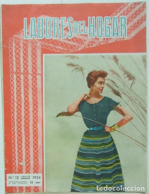labores del hogar nº 12 1954 encaje, punto, bor - Comprar Otras ...