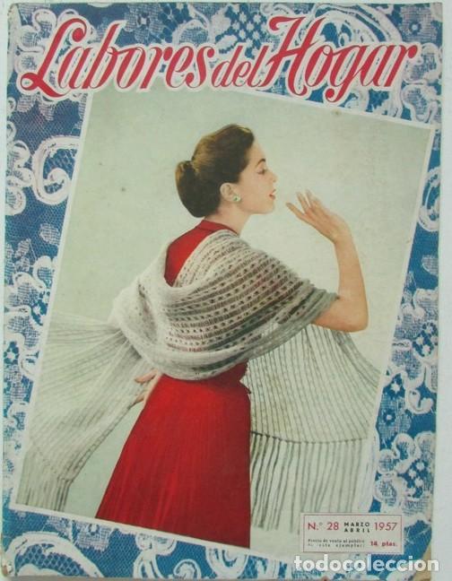 labores del hogar nº 28 1957 encaje, punto, bor - Comprar Otras ...