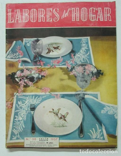 labores del hogar nº 30 1957 encaje, punto, bor - Comprar Otras ...