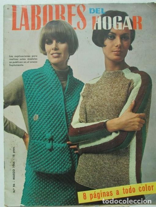 labores del hogar nº 94 1966 encaje, punto, bor - Comprar Otras ...