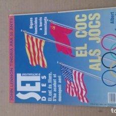 Coleccionismo de Revistas y Periódicos: REVISTA SET DIES N 56 DESEMBRE 1990. Lote 116412615