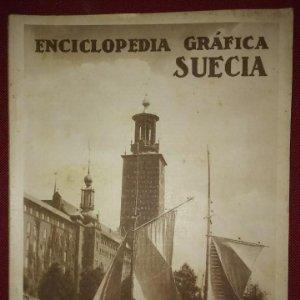 SUECIA ENCICLOPEDIA GRÁFICA - MACARIO GOLFERICHS-LUIS G. MANEGAT - BARCELONA 1930