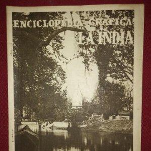 LA INDIA ENCICLOPEDIA GRÁFICA - MACARIO GOLFERICHS-LUIS G. MANEGAT - BARCELONA 1930