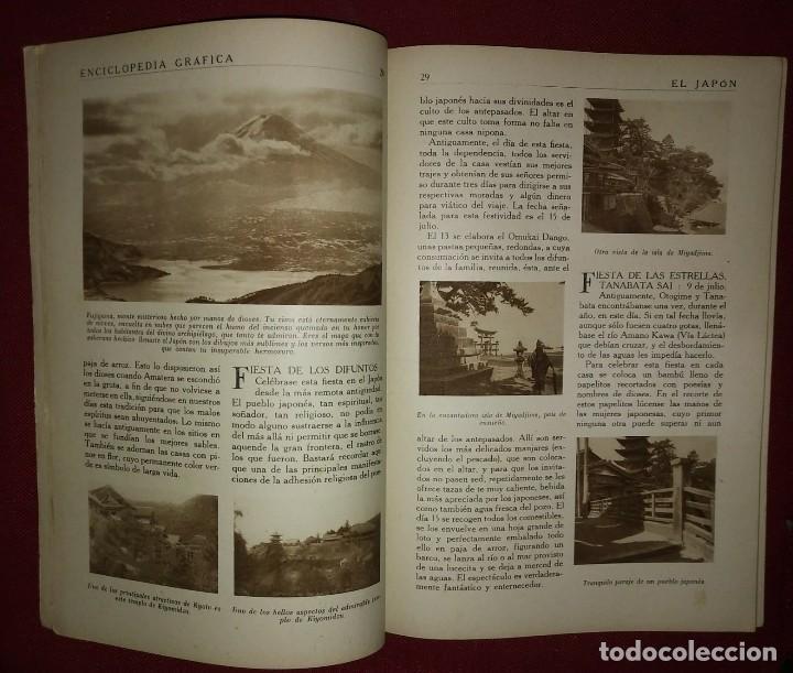 Coleccionismo de Revistas y Periódicos: JAPÓN ENCICLOPEDIA GRÁFICA - MACARIO GOLFERICHS-LUIS G. MANEGAT - BARCELONA 1930 - Foto 2 - 116426611