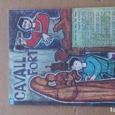 Coleccionismo de Revistas y Periódicos: REVISTA CAVALL FORT N 83. Lote 116520007