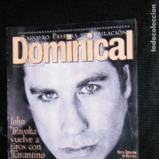 Coleccionismo de Revistas y Periódicos: F1 DOMINICAL Nº 42 AÑO 1995 JOHN TRAVOLTA VUELVE A TIROS CON TARANTINO. Lote 116548303