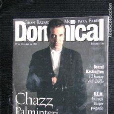 Coleccionismo de Revistas y Periódicos: F1 DOMINICAL Nº 136 AÑO 1996 CHAZZ PALMINTERI EL CINE ES BUENO O MALO SEGUN QUIEN APRIETE EL GATILLO. Lote 116552063