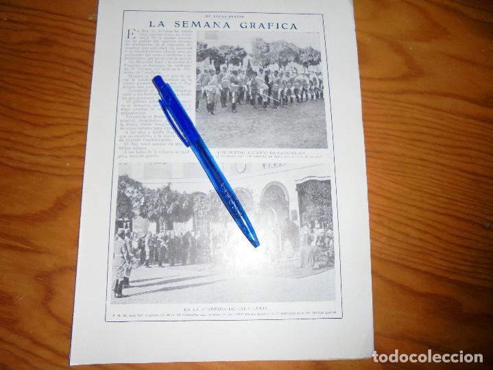 Coleccionismo de Revistas y Periódicos: RECORTE PRENSA .ACADEMIA DE CABALLERIA DE VALLADOLID. BLANCO Y NEGRO, OCTUBRE 1915 - Foto 2 - 116590035
