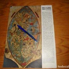 Coleccionismo de Revistas y Periódicos: RECORTE DE PRENSA : EL PLANISFERIO DE CRISTOBAL COLON, HALLADO DESPUES DE 500 AÑOS. SIGNAL, 1942. Lote 116596131