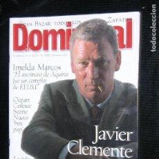 Coleccionismo de Revistas y Periódicos: F1 DOMINICAL Nº 116 AÑO 1996 JAVIER CLEMENTE SE QUE PODEMOS GANAR LA EURO COPA . Lote 116616259