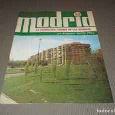 Coleccionismo de Revistas y Periódicos: MADRID ( LA GUINDALERA - PARQUE DE LAS AVENIDAS POR FRANCISCO ... ) - 50 - ESPASA CALPE S.A. - 1979. Lote 116641199