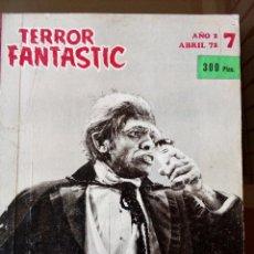 Coleccionismo de Revistas y Periódicos: TERROR FANTASTIC, LIBRO 6 REVISTAS ENCUADERNADAS (Nº7 AL 12), 1972 - SITGES. Lote 116670795