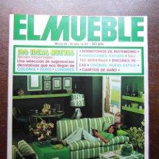 Coleccionismo de Revistas y Periódicos: REVISTA EL MUEBLE. Nº 171. MARZO DE 1976. Lote 116685127