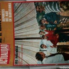 Coleccionismo de Revistas y Periódicos: REVISTA ACTUALIDAD AÑO 1968-LOS PEKENIKES. Lote 116709012