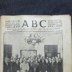 Coleccionismo de Revistas y Periódicos: PERIÓDICO ABC COMPLETO 26 MAYO 1917. Lote 116753115