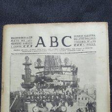 Coleccionismo de Revistas y Periódicos: 1917 PERIÓDICO ABC COMPLETO 27 MAYO 1917. Lote 116753252