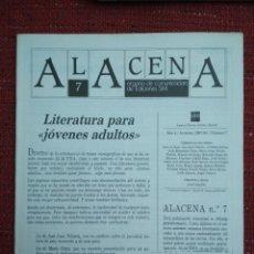 Coleccionismo de Revistas y Periódicos: REVISTA ALACENA Nº 7 LITERATURA INTANTIL Y JUVENIL EDITORIAL S.M.. Lote 116760443