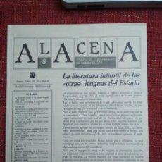 Coleccionismo de Revistas y Periódicos: REVISTA ALACENA Nº 8 LITERATURA INTANTIL Y JUVENIL EDITORIAL S.M.. Lote 116760487