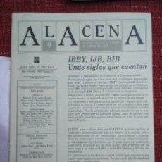 Coleccionismo de Revistas y Periódicos: REVISTA ALACENA Nº 9 LITERATURA INTANTIL Y JUVENIL EDITORIAL S.M.. Lote 116760559