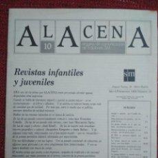 Coleccionismo de Revistas y Periódicos: REVISTA ALACENA Nº 10 LITERATURA INTANTIL Y JUVENIL EDITORIAL S.M.. Lote 116760619