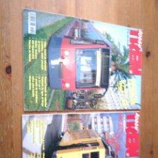 Coleccionismo de Revistas y Periódicos: LOTE DE 2 REVISTAS HOOBY TREN. Lote 116907699