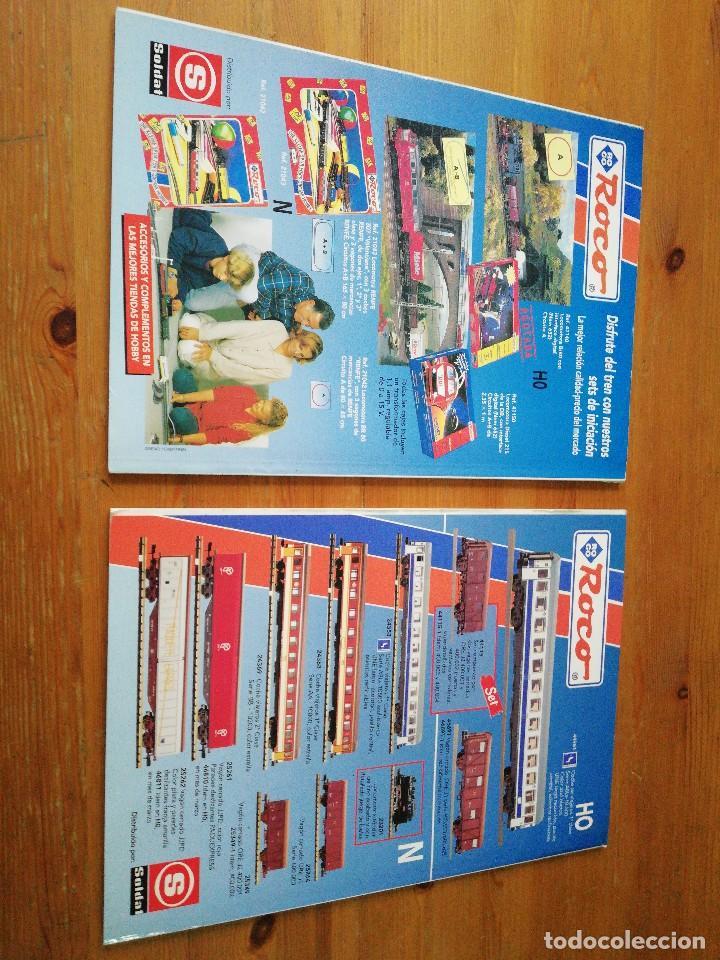Coleccionismo de Revistas y Periódicos: Lote de 2 revistas Hooby Tren - Foto 2 - 116907699
