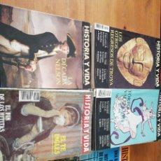 Coleccionismo de Revistas y Periódicos: LOTE DE 41 EJEMPLARES DE LA REVISTA HISTORIA Y VIDA. Lote 116909839