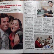 Coleccionismo de Revistas y Periódicos: ISABEL PREYSLER JULIO IGLESIAS. Lote 116969179