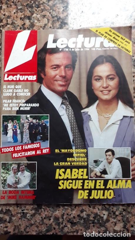 Coleccionismo de Revistas y Periódicos: ISABEL PREYSLER JULIO IGLESIAS - Foto 2 - 116969179