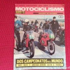 Colecionismo de Revistas e Jornais: MOTOCICLISMO 1969. Lote 117039387
