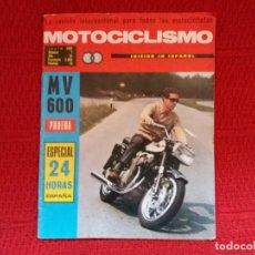 Colecionismo de Revistas e Jornais: MOTOCICLISMO N.7 JULIO 1967. Lote 117040319