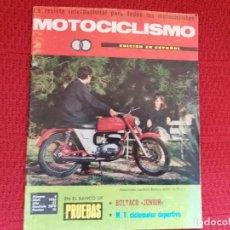 Colecionismo de Revistas e Jornais: MOTOCICLISMO N.4 ABRIL 1966. Lote 117040835