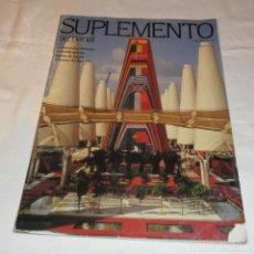 Coleccionismo de Revistas y Periódicos: SUPLEMENTO SEMANAL 19 DE ABRIL 1992. Lote 117074359