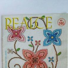 Coleccionismo de Revistas y Periódicos: REALCE N° 146 PUNTO DE CRUZ. Lote 147461958