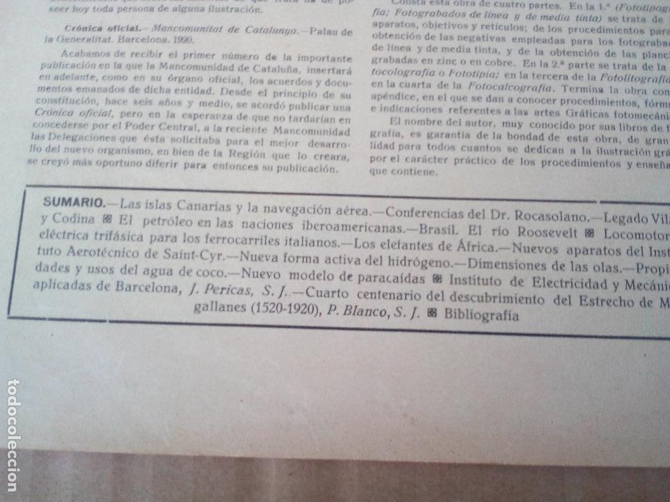 Coleccionismo de Revistas y Periódicos: REVISTA IBERICA Nº357 1920 locomotora electrica trifasica-la navegacion aerea islas canarias - Foto 2 - 117125191