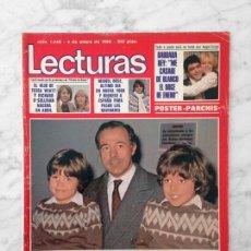 Coleccionismo de Revistas y Periódicos: LECTURAS - 1980 - EL DUQUE DE CADIZ, PARCHIS, AGATA LYS, PAVLOVSKY, MIGUEL BOSE, JOHN DEREK, PECOS. Lote 117136459