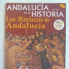 Coleccionismo de Revistas y Periódicos: REVISTA ANDALUCIA EN LA HISTORIA : MORISCOS DE ANDALUCIA, JULIO CESAR EN LA BETICA, FABRICA TABACOS. Lote 180115645